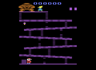 If only Coleco had released this version of Donkey Kong, the crash wouldn't have happened.
