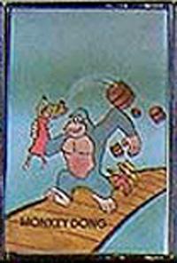Monkey Dong for the Atari 2600